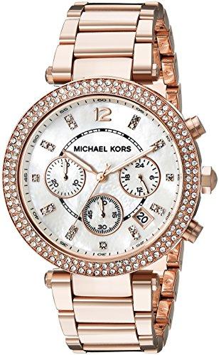 Michael Kors Women's Parker Rose Gold-Tone Bracelet