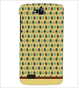 PrintDhaba Pattern D-1544 Back Case Cover for HUAWEI HONOR HOLLY (Multi-Coloured)