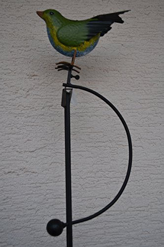Gartenstecker wipp windspiel lustige windspiel for Gartenskulpturen metall rost