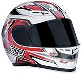 AGV GP-TECH COMBAT WHITE/RED 3X-LARGE/3XL HELMET