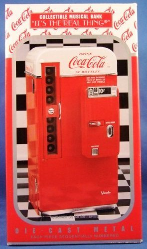 Coca Cola Vending Machine Musical Bank Vendo 1994 - 1