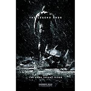 The Dark Knight Rises Bane Movie Poster - 11x17