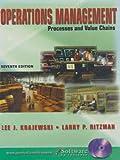 Operatns Managemt& Student CD& MS Proj02 Pkg (0131608657) by Krajewski, Lee J.