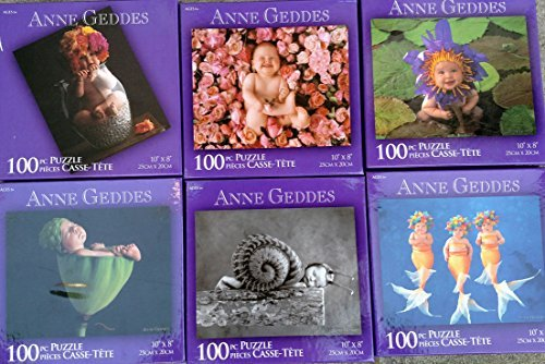 Anne Geddes 100 Piece Puzzle(s) Assorted, Styles & Quantities Vary