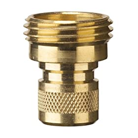 Nelson 50335 Brass Hose Quick Connectors, Male, 2-Pack