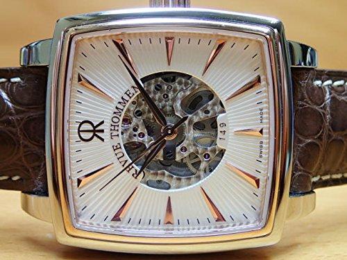 レビュートーメン 腕時計 REVUE THOMMEN マニュファクチュール カレ・カンブレ・スケルトン メンズサイズ 1230.2862 自動巻