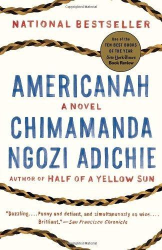 Buchseite und Rezensionen zu 'Americanah by Adichie, Chimamanda Ngozi Paperback' von Chimamanda Ngozi Adichie