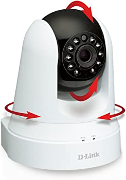 D-Link Pan and Tilt Security Camera