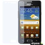 2x DIPOS Antireflex Displayschutzfolie für Samsung Galaxy R i9103