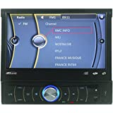 Takara RDV 1667BT Autoradios Bluetooth, En Façade