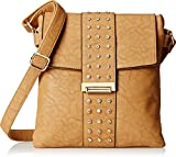 MG Collection Carlota Satchel Travel Cross Body Bag, Khaki, One Size