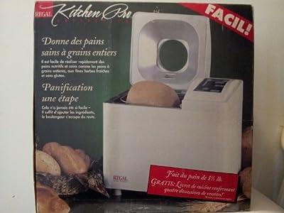 Regal Kitchen Pro Automatic Breadmaker Machine Model k6723