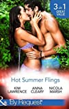 img - for Hot Summer Flings: A Spanish Awakening / The Italian Next Door... / Interview with the Daredevil (Mills & Boon By Request) by Kim Lawrence (2015-06-19) book / textbook / text book