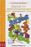 Manuel de math�matiques CE1 : Cahier...