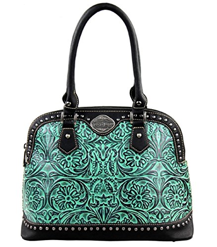 trinity-ranch-tooled-design-collection-handbag-black-turqouise