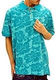 (ロカウェア)Roca Wear ポロシャツ メンズ 半袖 Rロゴ 大きいサイズ R0513K06 2カラー B系 hiphop RocaWear