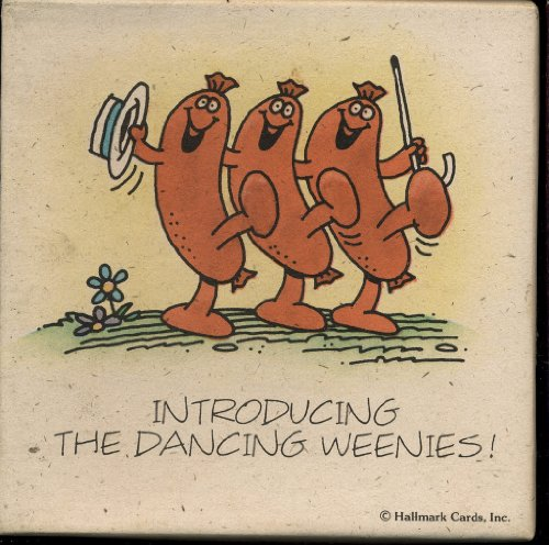 Hallmark Lite - Springbok Mini Jigsaw Puzzle - Introducing the Dancing Weenies - Over 70 Pieces PZL7253