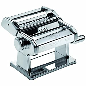 Marcato Atlas Wellness 150 Pasta Maker, Stainless Steel by Marcato