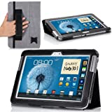 MoKo(TM) Slim Cover Case For Samsung Galaxy Note 10.1 N8000 N8010 N8013 Tablet Black (with Lip Stand Integrated...