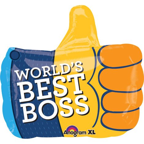 "18"" Boss Thumbs Up Junior Shape"
