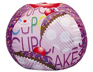 co Kids Cup Cake Collection Bean Bag, Lavender from Newco Kids