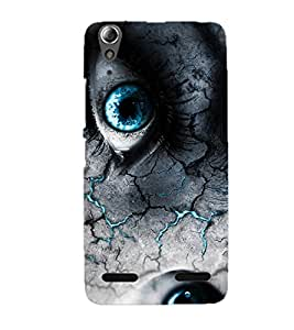 Doyen Creations Printed Back Cover For Lenovo A6000