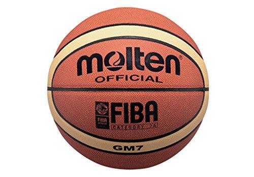 Molten BGM7 - pallone da pallacanestro, colore arancia, taglia 7