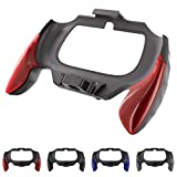 Skque® Durable PC Controller Handle Grip Joypad Attachment for Sony PS Vita 2000, Red & Black