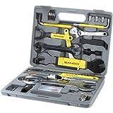 SAHOO Bike Bicycle Repairing Tool Set Kit Case Box Universal for Mountain Road Bicycle 44 in 1