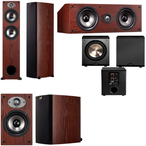 Polk Audio Tsx330T 5.1 Home Theater System (Cherry)