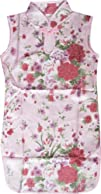 Girls Dress Artificial Silk Cheongsam Chinese Floral Size 12m-8