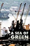 img - for A Sea of Green: A Voyage Around the World of Ocean Shipping book / textbook / text book