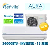 Senville 24000 BTU Ductless Air Conditioner and Heat Pump - Energy Star