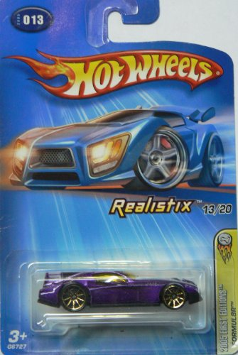 Hot Wheels 2005 First Editions Realistix 13/20 Formul8r on Card Variation - 1