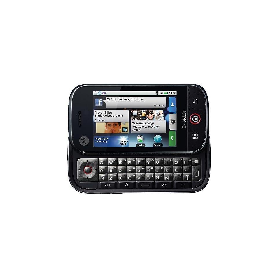 Motorola Cliq MB200 Unlocked GSM Cell Phone  Black