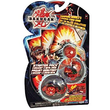 Bakugan Starter Pack Red