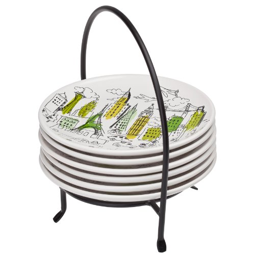 Signature Housewares Party Plates  Caddy, City