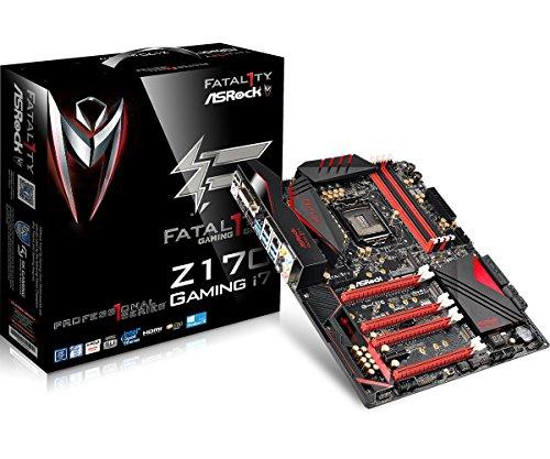 ASRock-ATX-DDR4-LGA-1151-Motherboards-FATAL1TY-Z170-PROFESSIONAL-GAMING-I7