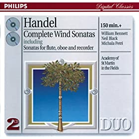 George Frideric Handel: Flute Sonata in E minor, Op.1, No.1a, HWV 379 - 1. Larghetto-Adagio