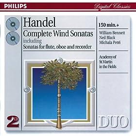 George Frideric Handel: Trio Sonata for 2 Flutes and Continuo in E minor, HWV 395 - 3. Largo
