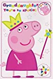 Peppa Pig For a Very Special Grand Daughter Birthday Card