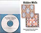 img - for Hidden Wells Quilt Pattern and CD book / textbook / text book