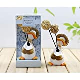 CERAMIC FRAGRANCE DIFFUSER WITH OIL HUMIDIFIER AROMA REFILL GIFT SET AIR REED DUCK VANILLA BERRIES