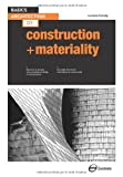 img - for Basics Architecture 02: Construction & Materiality book / textbook / text book