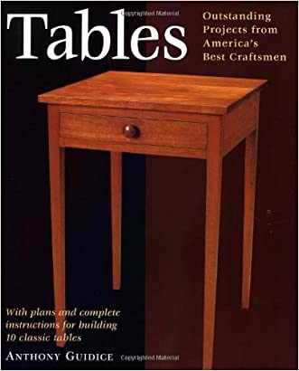 Tables: With Plans and Complete Instructions for 10 Tables (Projects Book)
