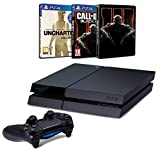 Pack PS4 500 Go + Uncharted Collection + Call of Duty : Black Ops III + Steelbook