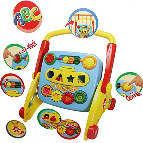 SIMBA ABC 4 in 1 Playset Lauflernwagen
