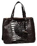 Abrazo Stylishly Yours Women's Handbag(Coffee)(SIKN885)