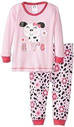 Gerber Baby Girls\' Dalmatian Cutie 2 Piece Cotton Pajama, Dalmatian, 24 Months