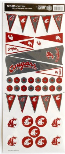 Sports Solution Washington State Cougars Pennant Sticker